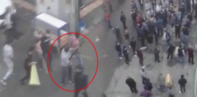 Diyarbakır'da şehrin göbeğinde dehşet anları! Birbirine girdiler sebebi ise bakın ne